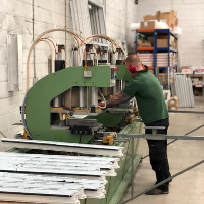 New factory - Jade Windows - worker