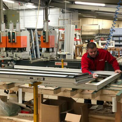 New factory - Jade windows - factory work